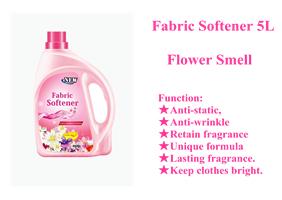 柔顺剂5L百花香味